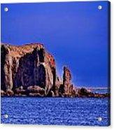 Baja Elephant Rock Acrylic Print