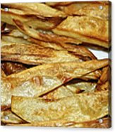 Baked Potato Fries Acrylic Print