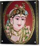 Bal Krishna Acrylic Print by Asha Nayak
