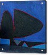 Balance Oil Paint Acrylic Print