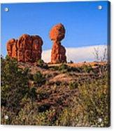 Balance Rock I Acrylic Print