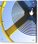 Balance Wheel Of A Watch, Artwork Acrylic Print
