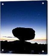 Balancing Rock Sunrise Acrylic Print