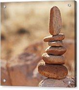 Balancing Rocks Acrylic Print by Thom Gourley/Flatbread Images, LLC
