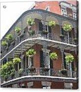 Balcony In New Orleans Acrylic Print