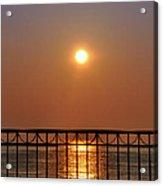 Balcony Sunrise Acrylic Print