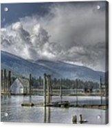 Balfour On Kootenay Lake Acrylic Print
