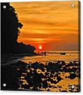Bali Indonesian Sunset Acrylic Print