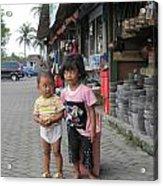 Bali Street Acrylic Print