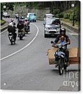 Balinese Transportation Acrylic Print