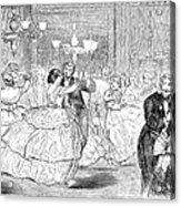 Ball, 1858 Acrylic Print by Granger