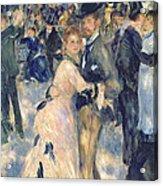Ball At The Moulin De La Galette Acrylic Print