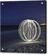 Ball Of Light Marco Island Beach Acrylic Print