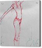 Ballerina 8048 Acrylic Print