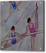 Ballerina Studio Acrylic Print