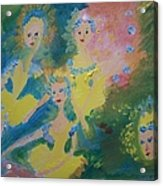 Ballet Of The Blooms Acrylic Print