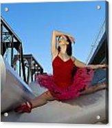 Ballet Splits Acrylic Print