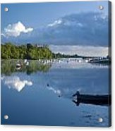 Ballina, Co Mayo, Ireland Morning Acrylic Print