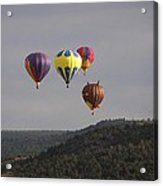 Balloon Cluster Acrylic Print