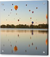 Balloon Festival Acrylic Print by Lightvision, LLC