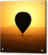 Balloon Over The Valley Of The Kings Acrylic Print