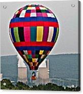 Ballooning Between The Stacks Acrylic Print