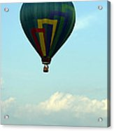 Balloons In Blue Skies  Acrylic Print