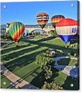 Balloons In Coolidge Park Acrylic Print