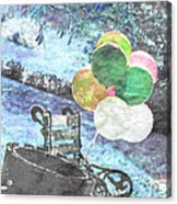 Balloons In The Park Acrylic Print