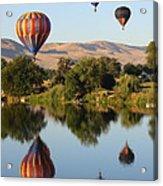 Balloons Over Horse Heaven Acrylic Print