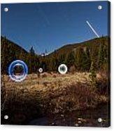 Balls Of Light Field Acrylic Print