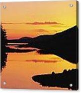 Ballynahinch Lake, Connemara, Co Acrylic Print