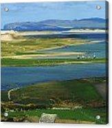 Ballyness, Co Donegal, Ireland Aerial Acrylic Print