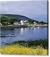 Ballyvaughan, Co Clare, Ireland Small Acrylic Print