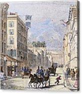 Baltimore, 1856 Acrylic Print