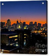 Baltimore At Sunset Acrylic Print