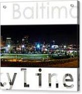Baltimore Downtown Acrylic Print