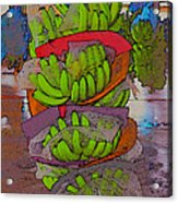 Banana Harvest Acrylic Print