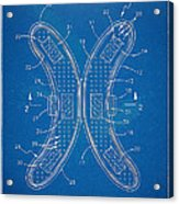 Banana Protection Device Patent Acrylic Print