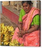 Banana Seller Acrylic Print
