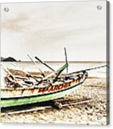 Banca Boat Acrylic Print