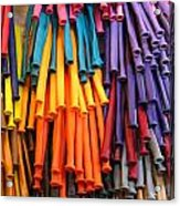 Bands Of Color Acrylic Print