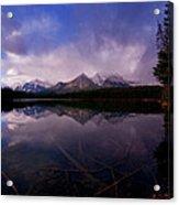 Banff - Herbert Lake Acrylic Print