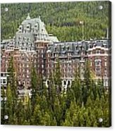 Banff Hotel 1684 Acrylic Print