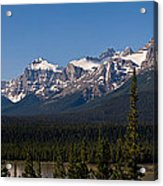 Banff National Park Panorama Acrylic Print