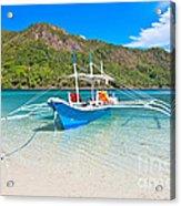 Bangka Boat Acrylic Print