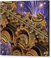 Bangkok Palace Acrylic Print by Pam Blackstone