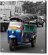 Bangkok Tuk Tuk Acrylic Print