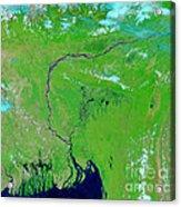 Bangladesh Acrylic Print by Nasa