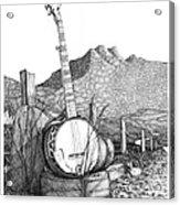 Banjo 2 Acrylic Print